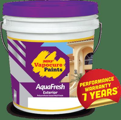 MRF vapocure paints-AquaFresh exterior