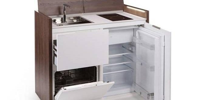Smart Kitchens For Tiny Spaces : Compact all-in-one kitchen ...