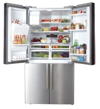 750 L Nagold Side-by-Side Refrigerator By Hafele | Kitchen