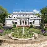 This 100 year old Palace in Moradabad is dipped in royalty, enhanced with heritage furniture & surrounded by lush greenery