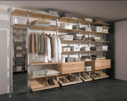 Walk-in Wardrobe Systems by Hafele - Buildingandinteriors