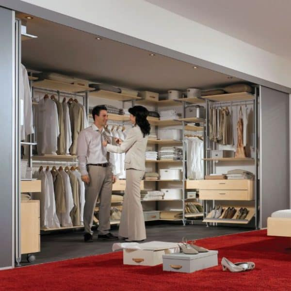 huge selection of 9cd50 dbac9 Walk-in Wardrobe Systems by Hafele - Buildingandinteriors