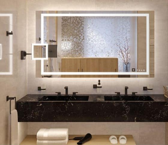 Aquasys Light Mirror By Hafele Multi Functional Bathroom