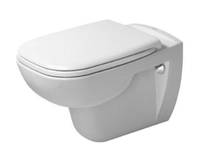 Duravit D-Code Rimless Wall Mounted Toilet