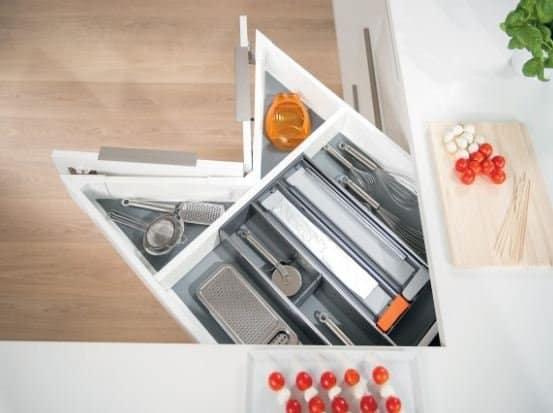 Blum Space Corner Cabinet