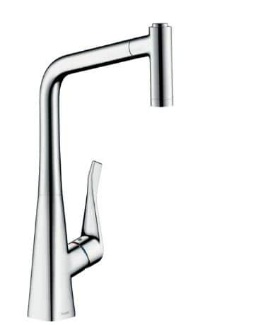 Hansgrohe Metris Single lever Kitchen mixer 320 with pull-out spray