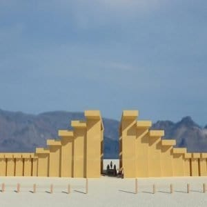 Burning Man turns Japanese with a shrine-inspired temple for 2019