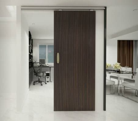 Hafele Classic 100 W Straight Sliding System for Wooden Door