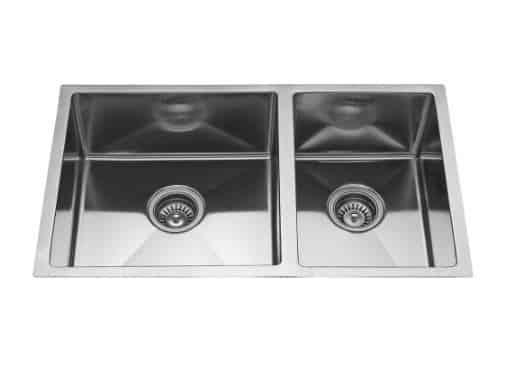 Neelkanth Stateline Handmade Double Bowl Sink