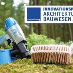 BECK LignoLoc® wooden nails honored with the AIT-Innovation Award 2019