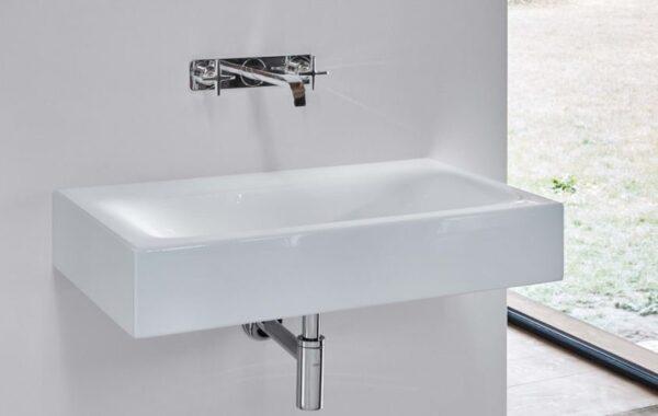 Bette Lux – Wall mounted wash basin   Bathroom basin