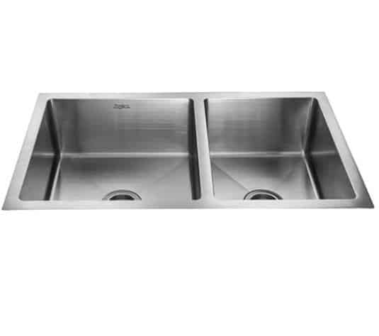 Jayna R-10 Square Double Sink