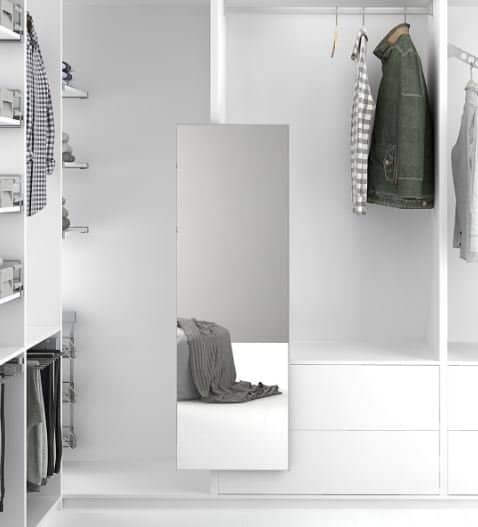 Menage Confort Pull-Out Mirror By Jyoti Architectural Products