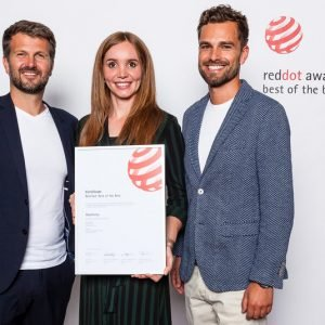 AXOR Edge and hansgrohe Rainfinity Take 'Best of Best' Red Dot Award 2019