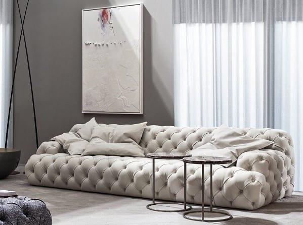 Meridiani NORTON CAPITONNÉ Tufted sofa
