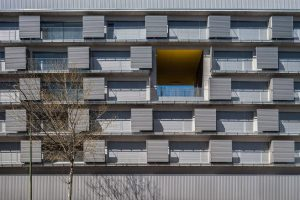 194 Social dwellings in Carabanchel, Madrid are characterized by their constraint dimensions