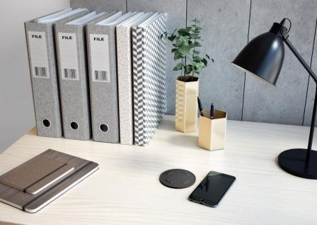 Wireless Loox Inductive Charger by Hafele