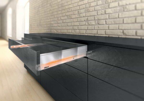 Hafele Blum kitchen drawer – Legrabox | Kitchen furniture