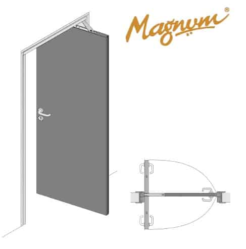 Magnum Swing N Slide Door System