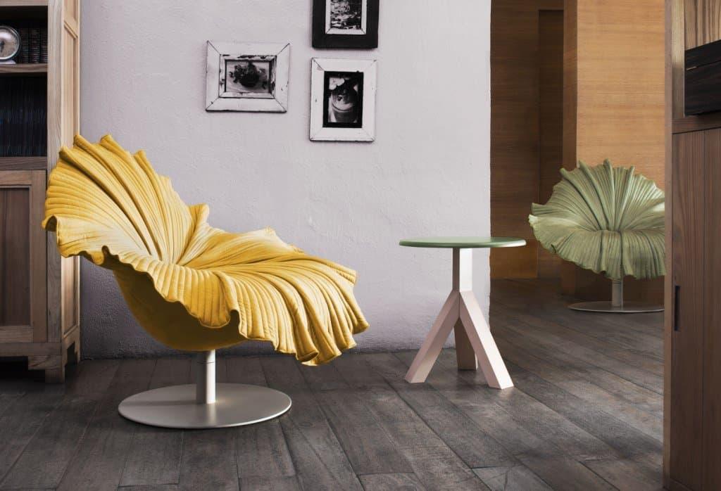 Rattan furniture design ideas- yellow flower chair -Bloom-Setting-web