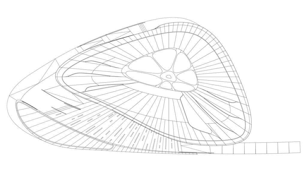 Zaha Hadid Design - Mobile Art Chanel Pavilion - sket_01