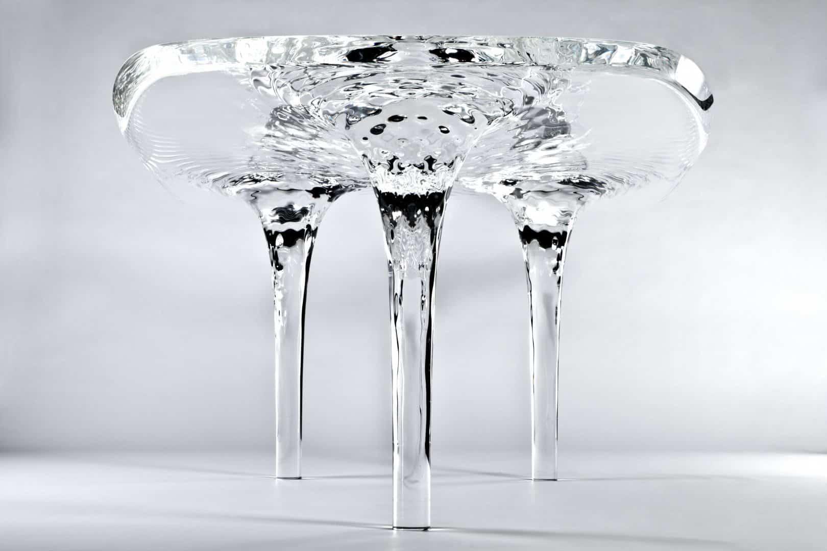 Zaha Hadid Product Design - Liquid Glacial Table - photobyjacopospilimbergo_013399