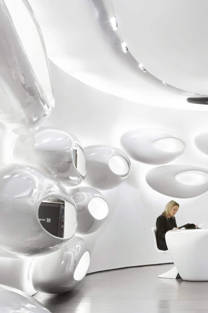 Zaha Hadid Product Design - the roca gallery london 00273