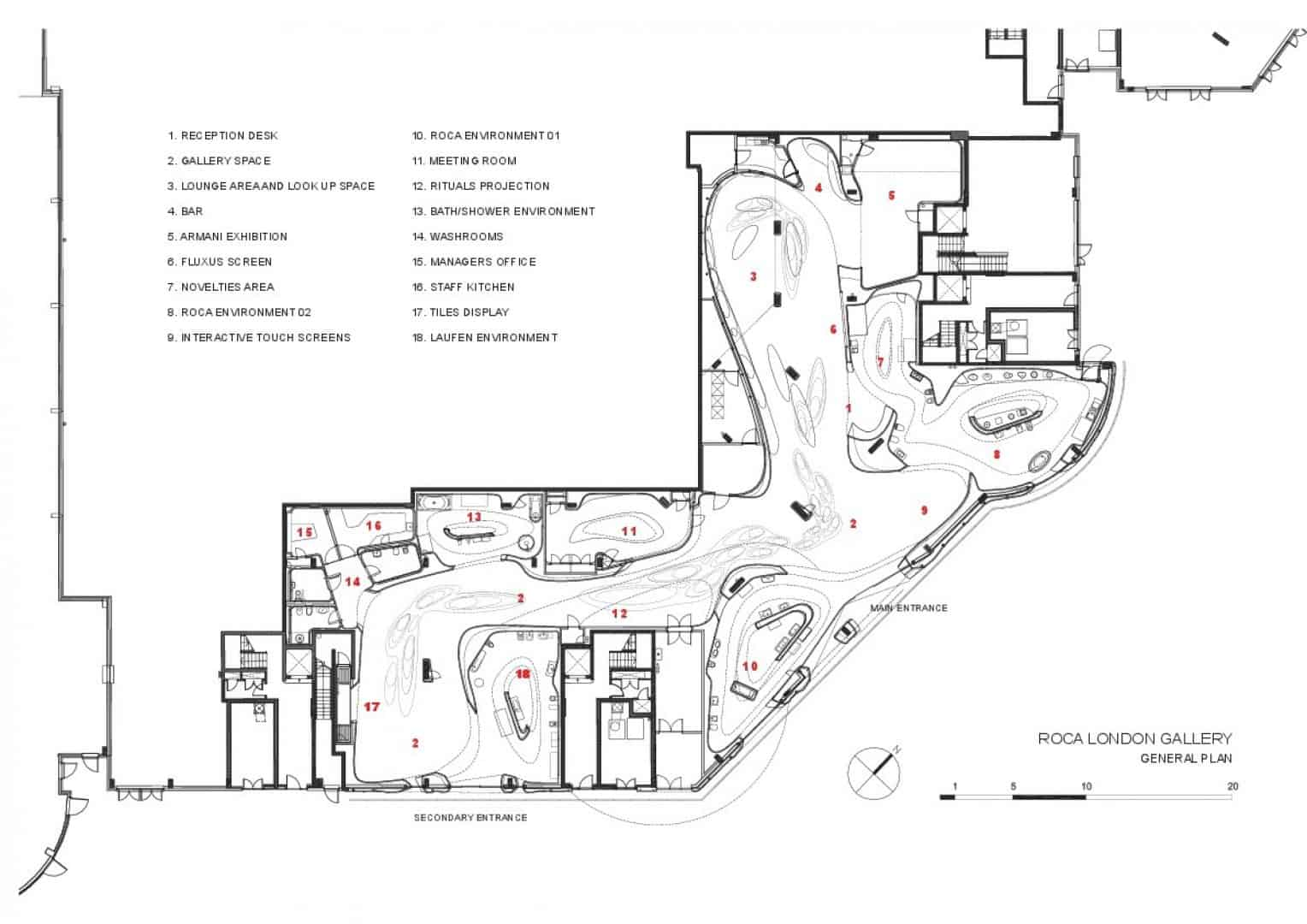 Zaha Hadid Product Design - the roca gallery london 1