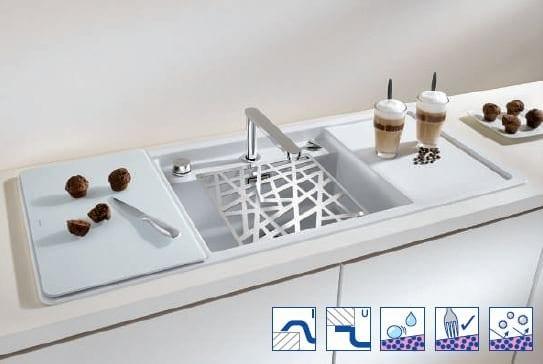 Hafele Blanco Alaros 6 S- Silgranit PuraDur Kitchen Sink