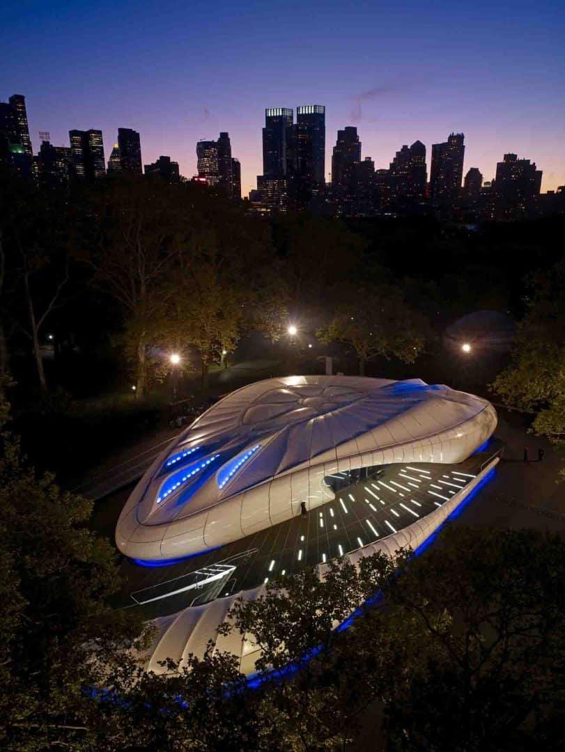 tZaha Hadid Design - Mobile Art Chanel Pavilion - johnlinden_newyork7