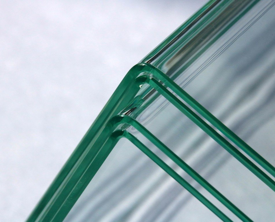 Glass Bending Process - Fraunhofer Institute - 90 degree angle - 1