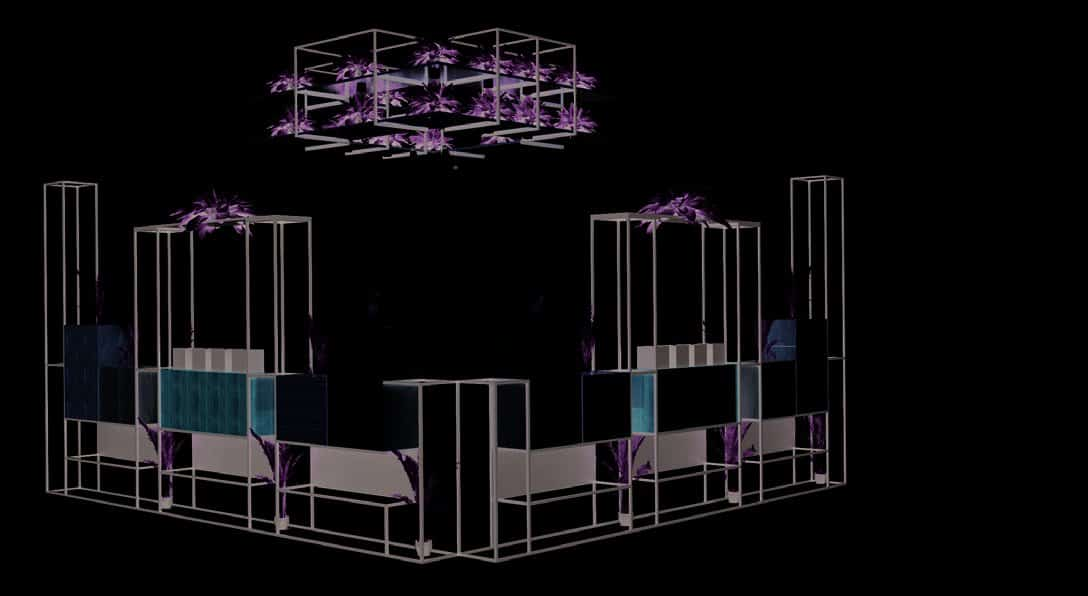 Rod Furniture - Savvy Cube - Ceiling Frame