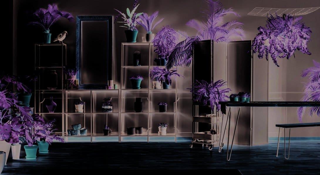 Rod Furniture - Savvy Cube -Garden Shelf