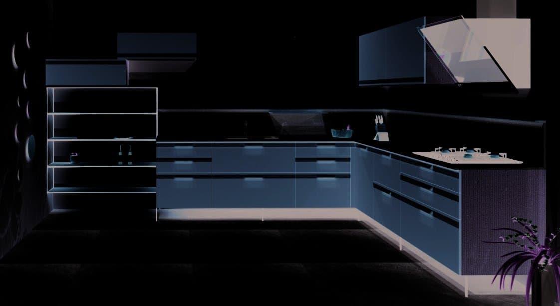 Rod Furniture - Savvy Cube - Kitchen shelves