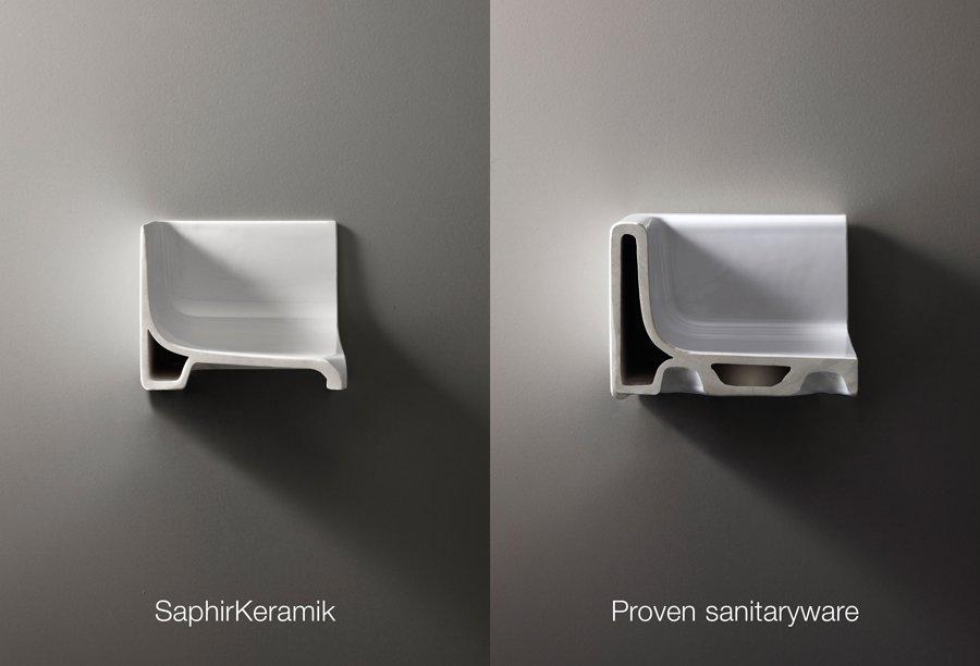 Saphirkeramik_Laufen_ conventional ceramic -Basin