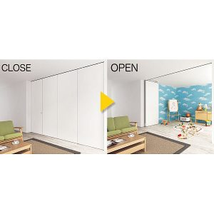 Sugatsune (LAMP) Stackable Partition Door System FDP40v