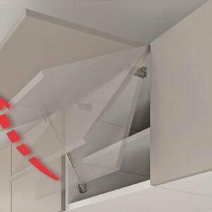 Hafele Kraby Friction Lift-up System by ItalianaFerramenta