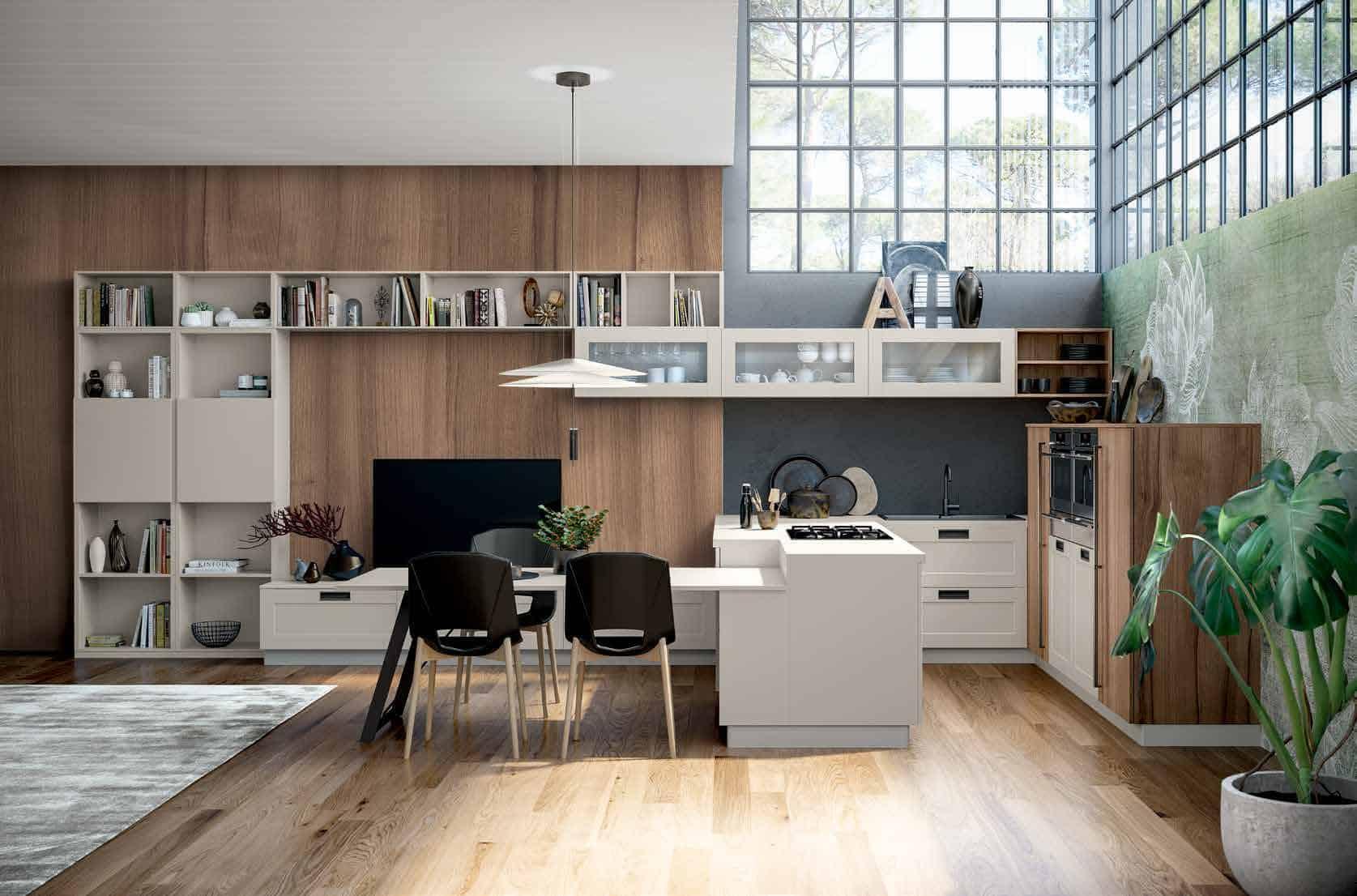 CERA Senator Cucine Italian Kitchens - Look Quadra 1