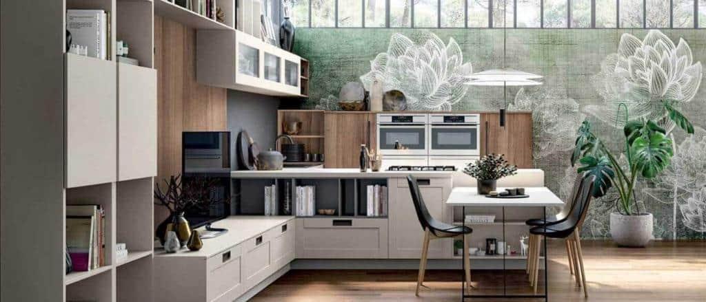 CERA Senator Cucine Italian Kitchens-Look Quadra