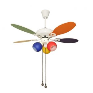 Fanzart adds brightness to your child's room – Launches colourful RAINBOW Ceiling Fans