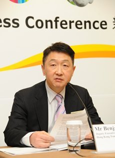 HKTDC Smart City Exhibition 2019 Benjamin Chau