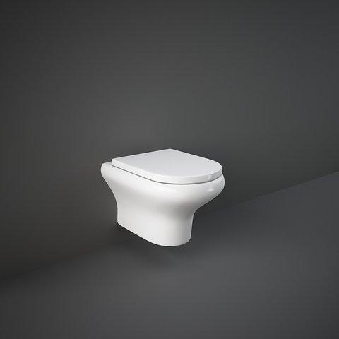 RAK Compact W/Hidden Fixations Rimless Wall Hung Water Closet