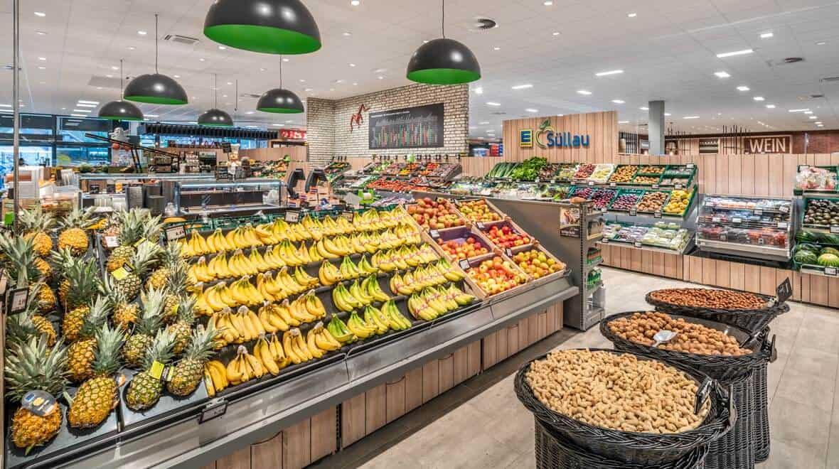 retail store lighting fixures- design -food-edeka-suellau-moelln-obst-globe-oktalite-story-392