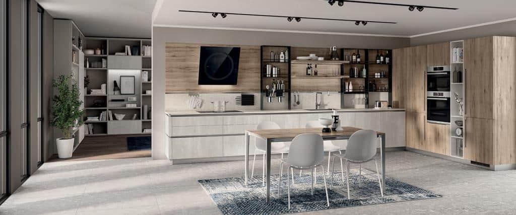 10110_LIberaMente-Scavolini-Italian Designer Kitchen - 01