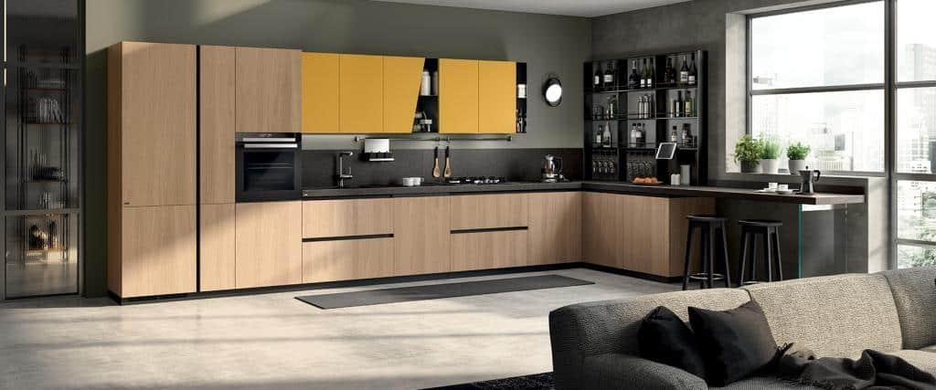 219_LiberaMente-Scavolini-Italian Designer Kitchen - 09