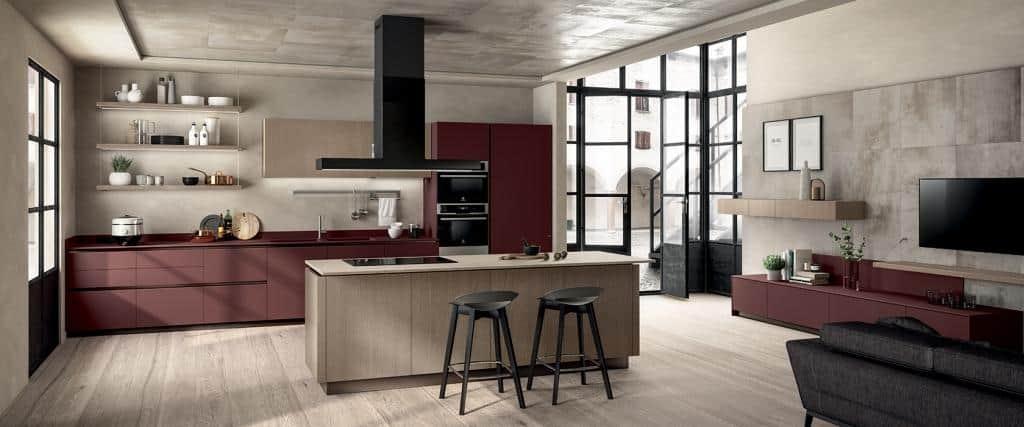 7325_LiberaMente-Scavolini-Italian Designer Kitchen - 05