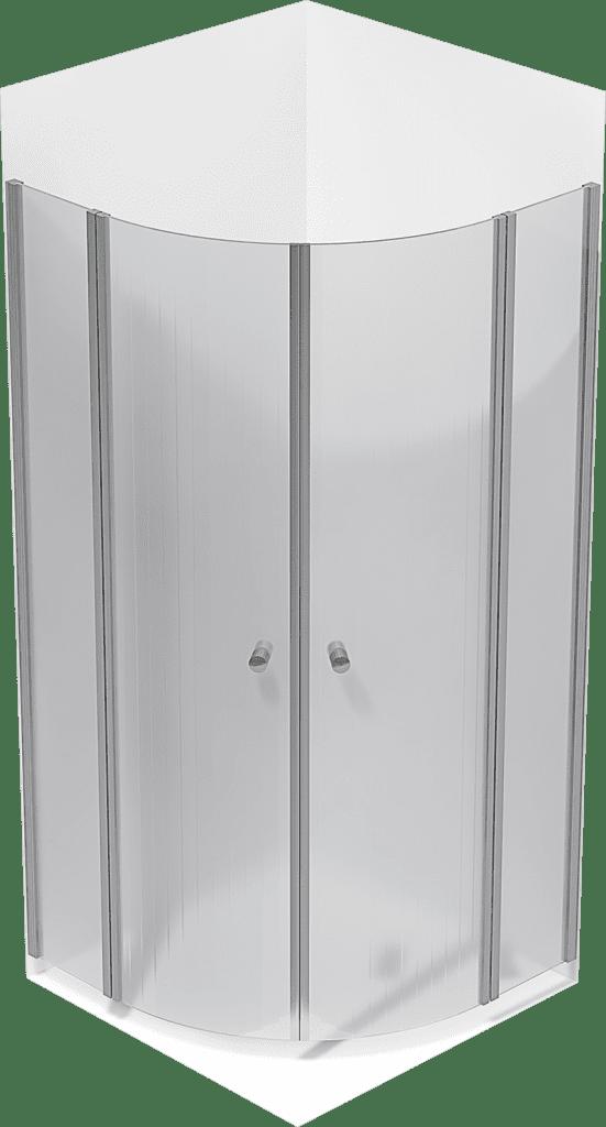 Custom Non-Glass Showerdoors