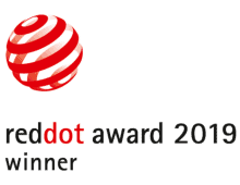 red dot design award 2019 winner - logo
