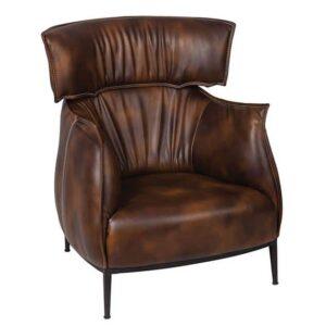 GeeKen Plush Brown Sofa
