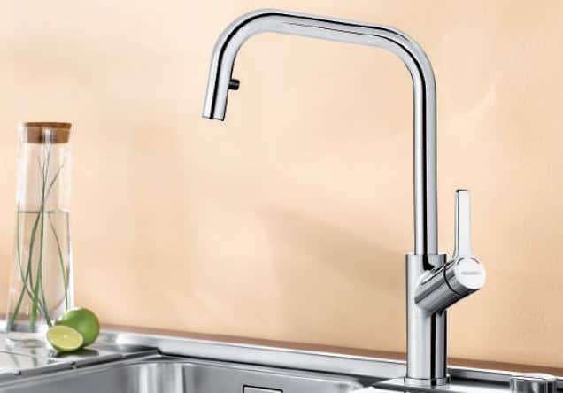 Hafele Blanco Jurena-S Kitchen Sink Faucet